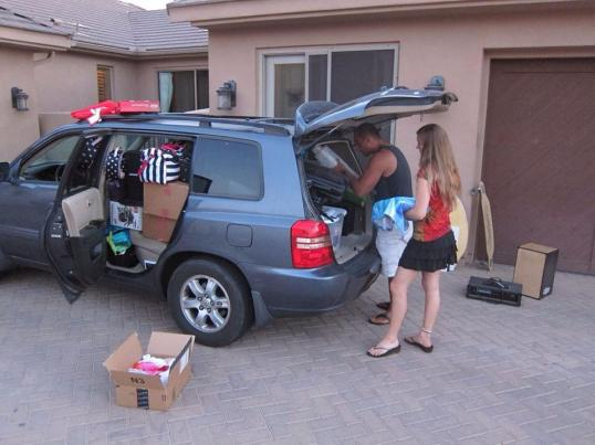 Packing the Car